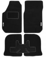Textile-Pro Коврики в салон для Audi 100 /A6 '91-97 текстильные, черные (Стандарт)