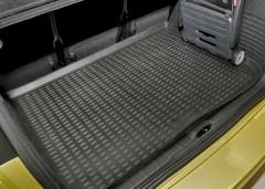 Коврик в багажник для Citroen C4 Picasso '01-07, полиуретановый (Novline / Element) черный