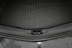 Коврик в багажник для Ford Mondeo '01-07 седан, полиуретановый (Novline / Element) черный