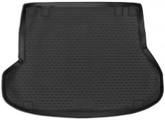 Коврик в багажник для Kia Ceed '12- универсал, полиуретановый (Novline / Element) черный