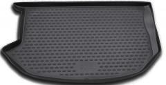 Коврик в багажник для Kia Soul '09-13 (верхний), полиуретановый (Novline / Element) черный EXP.NLC.25.25.B13n