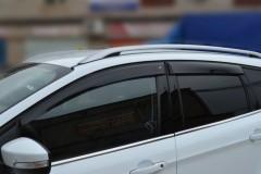 Дефлекторы окон для Ford Kuga '13- Eurostandart (Cobra)