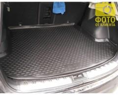 Фото 4 - Коврик в багажник для Nissan Qashqai +2 '06-14, (длинный), полиуретановый (Novline / Element) черный EXP.NLC.36.24.G13