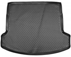 Фото 1 - Коврик в багажник для Nissan Qashqai +2 '06-14, (длинный), полиуретановый (Novline / Element) черный EXP.NLC.36.24.G13