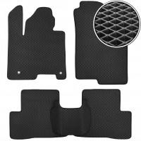 Kinetic Коврики в салон для Hyundai Tucson (NX4) '21-, гибрид, EVA-полимерные, черные (Kinetic)