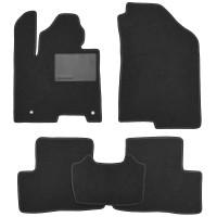 Textile-Pro Килимки в салон для Hyundai Tucson (NX4) '21-, гібрид, текстильні, чорні (Optimal)