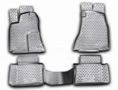 Коврики в салон для Chrysler 300 C '04-10 полиуретановые, черные (Novline / Element)