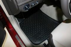 Коврики в салон для Chrysler 300 C '11- полиуретановые, черные (Novline)