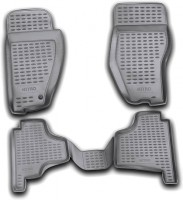 Коврики в салон для Dodge Nitro '07-12 полиуретановые, черные (Novline / Element)