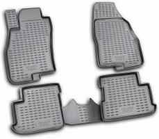 Коврики в салон для Fiat Grande Punto / Punto '05- полиуретановые, черные (Novline / Element) EXP.NLC.15.23.210