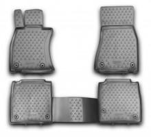 Коврики в салон для Lexus LS '12-17, 4WD, Long полиуретановые (Novline / Element)