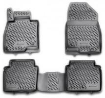 Коврики в салон для Mazda 6 '13-, седан полиуретановые, черные (Novline / Element) EXP.CARMZD00025h