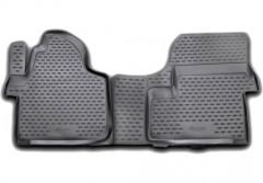 Коврики в салон для Mercedes Sprinter '06- полиуретановые, черные (Novline / Element)