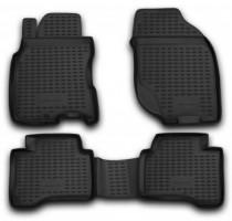 Коврики в салон для Nissan X-Trail '01-07 полиуретановые, черные (Novline / Element) EXP.NLC.36.13.210