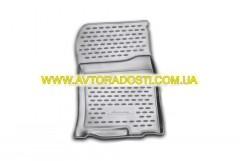 Фото 7 - Коврики в салон для Toyota Land Cruiser Prado 150 '10-13 полиуретановые, серые (Novline)