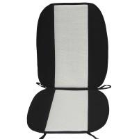 Накидка на сиденье Casablanca (Lubex) черная с белым