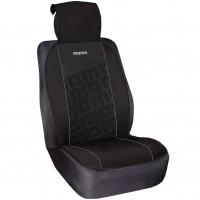 Накидка на сиденье Premium (Momo) черная SCU008BG