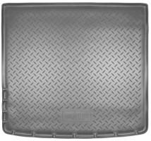 Коврик в багажник для Renault Duster '10-18 (4WD), полиуретановый (NorPlast) черный