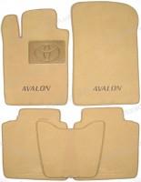 Коврики в салон для Toyota Avalon '05-12 текстильные, бежевые (Премиум)