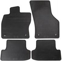 Коврики в салон для Audi A3 '12- резиновые, черные (Petex)