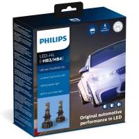 Автомобильные лампочки Philips Ultinon Pro9000 LED HB3/HB4 5800К (2 шт.)