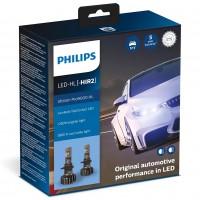 Автомобильные лампочки Philips Ultinon Pro9000 LED HIR2 5800К (2 шт.)