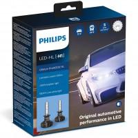 Автомобильные лампочки Philips Ultinon Pro9000 LED H1 5800К (2 шт.)