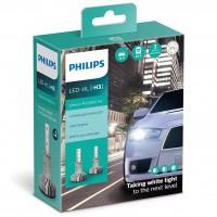 Автомобильные лампочки Philips Ultinon Pro5000 LED H3 5800К (2 шт.)