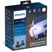 Автомобильные лампочки Philips Ultinon Pro9000 LED H3 5800К (2 шт.)