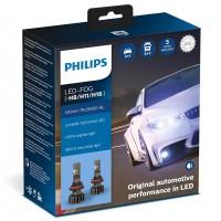 Автомобильные лампочки Philips Ultinon Pro9000 LED FOG H8/H11/H16 5800К (2 шт.)