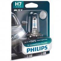 Автомобильная лампочка Philips X-tremeVision Pro150 H7 +150%