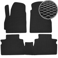 Kinetic Коврики в салон для Chery Jetour X70 '20-, EVA-полимерные, черные (Kinetic)
