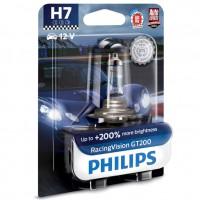 Автомобильная лампочка Philips Racing Vision GT200 H7 55W 12V