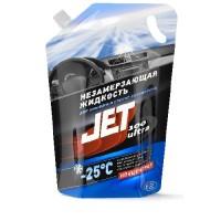 """Жидкость для омывания стекол JET 100 Ultra """"Мятная энергия""""  -25 °С, концентрат в пакете 2 л"""