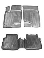 Коврики в салон для Hyundai Getz '02-11 полиуретановые (L.Locker)