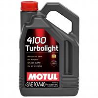Motul MOTUL 4100 Turbolight 10W-40, 5 л