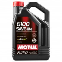 Motul MOTUL 6100 SAVE-LITE 5W-20, 4 л