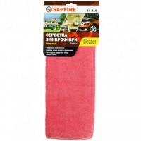 Салфетка из микрофибры SAPFIRE 35х40 см (красная)