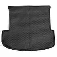 Коврик в багажник для Kia Telluride '19-, длинный, 3-й ряд сложен., полиуретановый (Novline / Element)