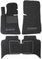 Коврики в салон для BMW 5 E34 '88-96 текстильные, бежевые (Люкс)