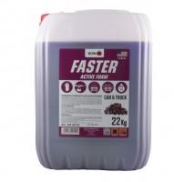 Автошампунь - концентрат Nowax Faster Active Foam, 22 л