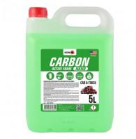 Автошампунь - концентрат Nowax Carbon Nano Active Foam, 5 л
