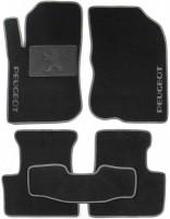 Коврики в салон для Peugeot 208 '12- текстильные, серые (Люкс)