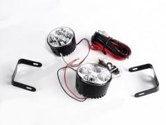 Фары дневного света PL-1089-W/Led-4/D=80mm