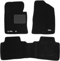 Коврики в салон для Hyundai Sonata '10-15 текстильные 3D, черные (3D Mats)