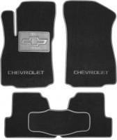Коврики в салон для Chevrolet Tracker '13- текстильные, серые (Люкс)