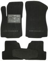 Коврики в салон для Chevrolet Tracker '13- текстильные, черные (Люкс)