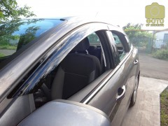 Дефлекторы окон для Ford Focus III '11-, седан (Azard)