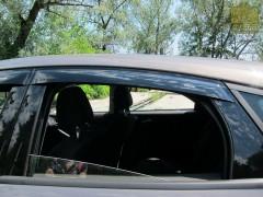Дефлекторы окон для Ford Focus III '11-, хетчбек (Azard)