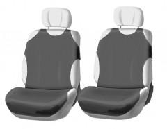 Чехлы (майки) для переднего сиденья (серые)
